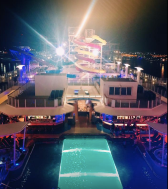 The top deck looking mighty fine