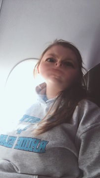 Someone get her off the plane
